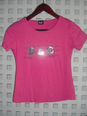 Shirt mit Pailletten von D & G