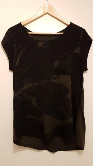 Shirt mit Palmenmuster von OPUS Gr. S -