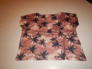 Shirt mit Palmenprint