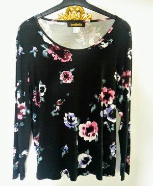 Ambria Selection Camiseta estampada negro