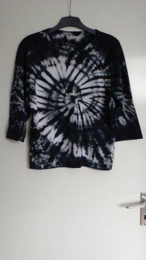 Print Shirt multicolored mixture fibre