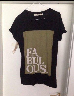 Shirt mit Print ,,Fabulous''