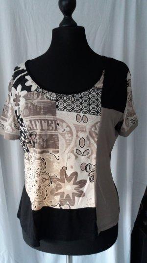 Shirt mit Print von Mandarin