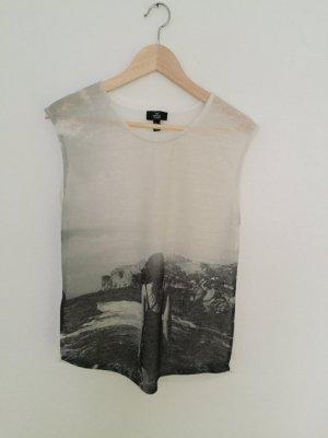 Shirt mit Print von Mango