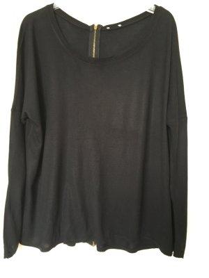 Zara Long Shirt black-gold-colored
