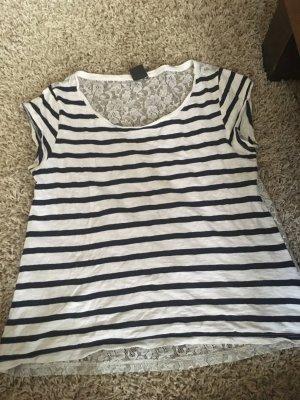 Shirt mit Rücken aus Spitze Gr.S
