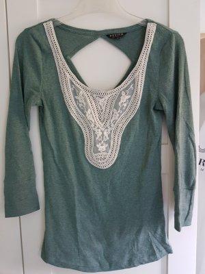 Review Ribbed Shirt sage green