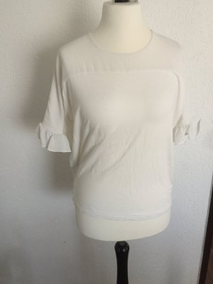 Camisa tipo túnica blanco puro