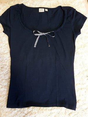 Shirt mit Schleife zum Raffen XS