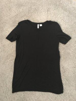 Shirt mit Schlitz an den Seiten