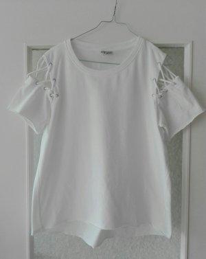 Shirt mit Schnürdetails