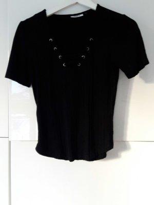 Shirt mit Schnürung Only  Größe S