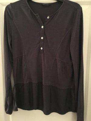 Shirt mit Schößchen blaugrau Marc O'Polo Gr. S