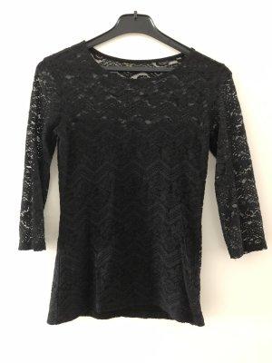 Bershka Lace Blouse black