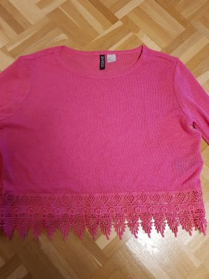 H&M Divided Shirtbody roze
