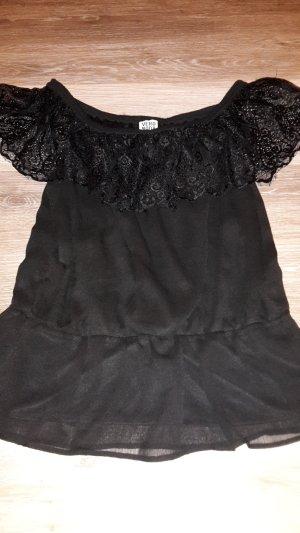 Vero Moda Lace Blouse black