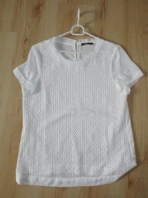 Shirt mit Spitze Größe 42