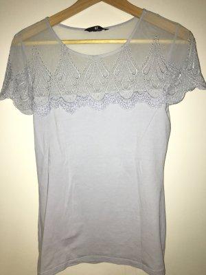 Shirt mit Spitze von H&M