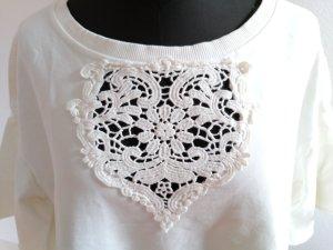 Shirt mit Spitze von Nolita Gr L