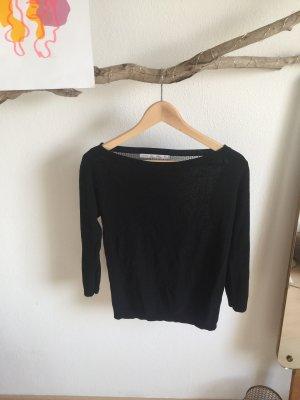 Zara Maglione lavorato a maglia nero