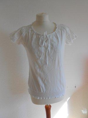 Shirt mit Stickereien Gr 38