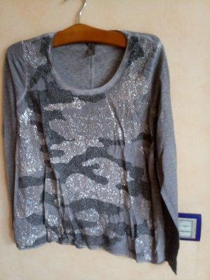 Shirt mit Strasssteinen Gr. 40