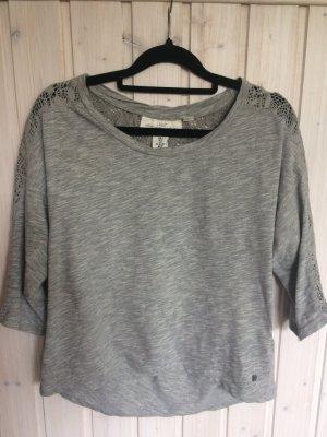 Shirt mit Strickeinsatz