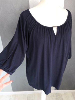 Shirt mit Tunika-Ausschnitt Gr. 48