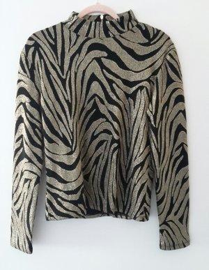 Ivyrevel Camisa larga negro-color oro