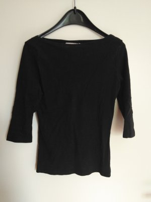 Hennes Collection by H&M Camisa de cuello barco negro