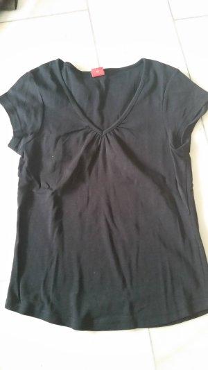 Livre V-hals shirt zwart
