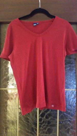 Cecil V-hals shirt rood