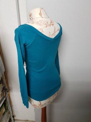 Shirt mit V-Ausschnitt vorne und am Rücken von Pimkie / sehr figurbetont