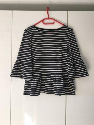 Shirt mit Volants von Hallhuber Größe XL(42)