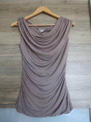 Shirt mit Wasserfall-Ausschnitt von H&M