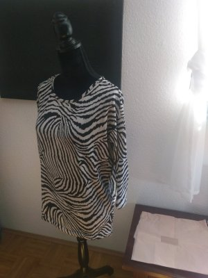 Shirt mit Zebrastreifen von Only
