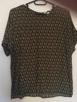 Shirt Muster gelb schwarz