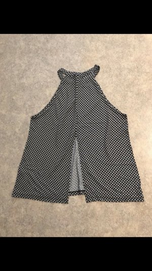 Gina Tricot Carmen shirt zwart-wit