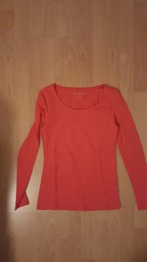 Shirt, Oberteil, Langarm, Orange, NEU ohne Etikett, Gr. XS, C&A
