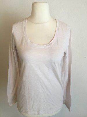Shirt Oberteil Langarmshirt Longsleeve Basic rose Gr. M von Esprit