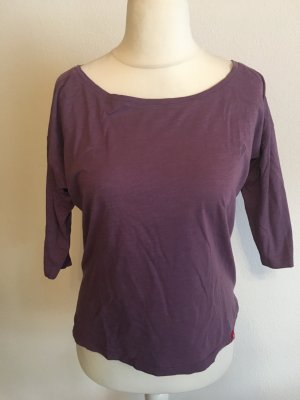 Shirt Oberteil locker 3/4 Ärmel flieder lila Gr. XS edc