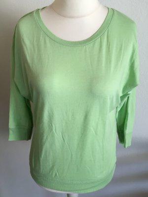 Shirt Oberteil locker oversized pastell mintgrün Gr. M