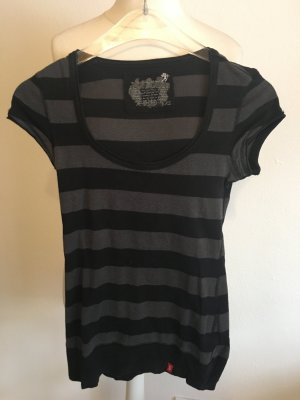edc by Esprit Knitted Jumper black-grey