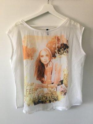 Shirt ohne Ärmel in tollen Pastellfarben