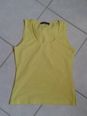 Shirt * ohne Arme * Bernd Berger-Viventy * S * neon gelb