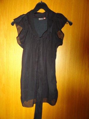 Shirt Only Gr. 34 schwarz mit Schluppe