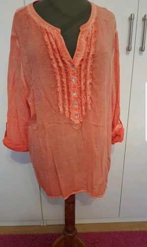 Shirt  Orange Korall liberty woman xxl