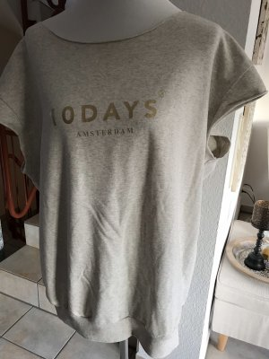 10 Days Oversized Shirt natural white-gold-colored