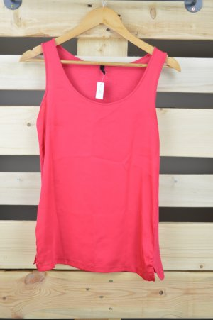 Benetton Muscle Shirt magenta