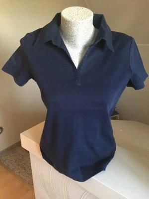 Shirt, Poloshirt, Cecil, Größe M, blau